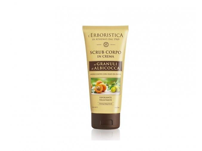 Athenas Erboristica tělový peeling s olivovým olejem 200 ml