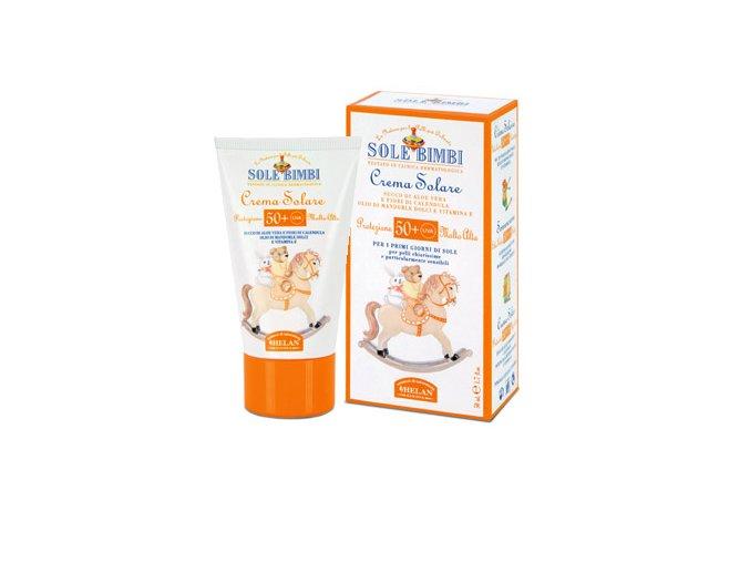 HELAN Dětský opalovací krém SPF50, 50 ml