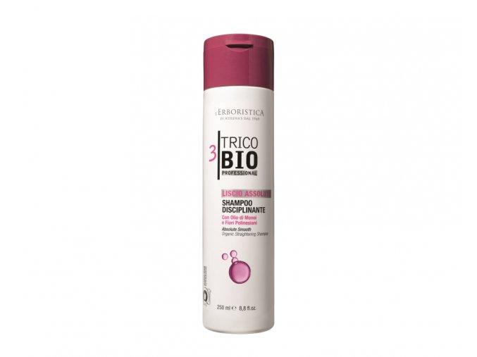 Erboristica TricoBio Absolute Smooth Šampon vyhlazující s Monoi olejem 125 ml