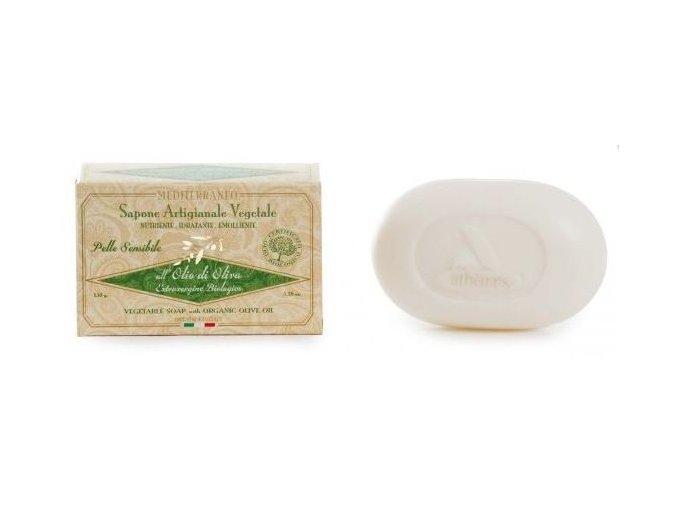 Erboristica Přírodní parfémované mýdlo s BIO olivovým olejem 150g