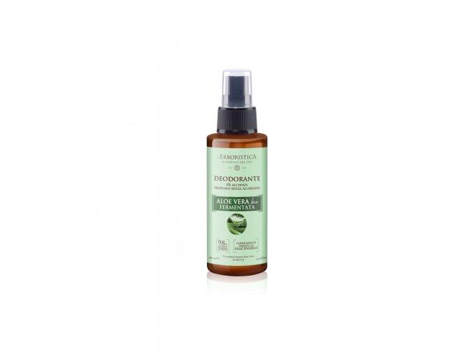 Erboristica Deodorant s aloe vera šťávou bez alkoholu pro citlivou pokožku 100 ml