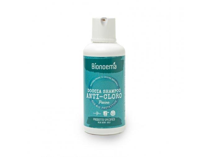 Bionoema Anti Cloro Sprchový gel a šampon proti chlóru bio 500ml