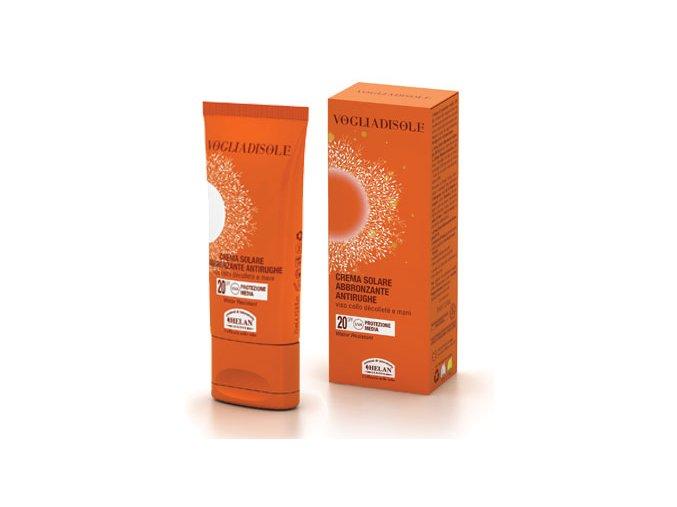 HELAN Opalovací krém proti vráskám SPF 20, 75 ml