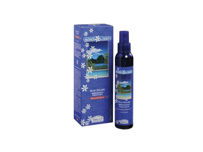HELAN Opalovací olej ve spreji s Monoi SPF 6-150 ml