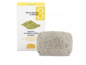 HELAN Mýdlo se zeleným jílem pro mastnou pleť 100g