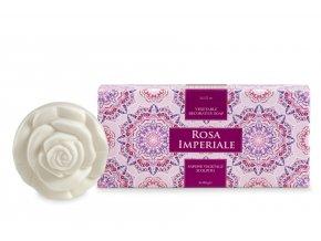 Athena's Přírodní mýdlo s vůní růže 2 ks po 100 g v dárkovém balení