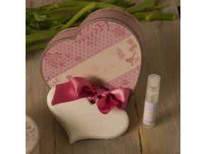 Il Giardino di Flo Dárkové balení srdce + sprej 5 ml