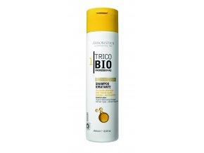 Erboristica TricoBio Sublime Glow Šampon hydratační s kyselinou hyaluronovou 250 ml