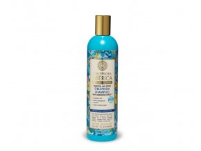 rakytníkový šampon pro poškozené vlasy