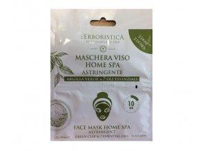 Athena's Pleťová maska se zeleným jílem a esenciálními oleji 2x 10 ml