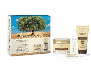 Erboristica Kosmetická sada péče o pleť s arganovým olejem anti-age 3 ks