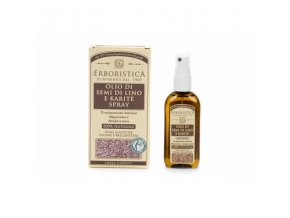Athena's Lněný olej na vlasy a karité máslo 100 ml