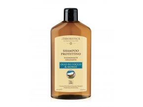 Erboristica Šampon hydratační a rozzařující s kokosovým olejem a monoi 300 ml