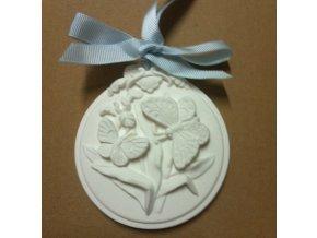 Il Giardino di Flo Ovál Motýl z keramiky