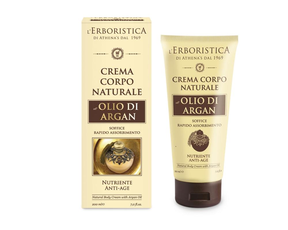 ERBORISTICA di Athena's Erboristica Tělový krém zpevňující s arganovým olejem 200 ml