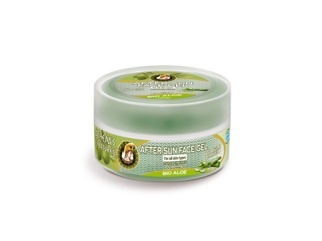 athenas face gel aloe 75ml