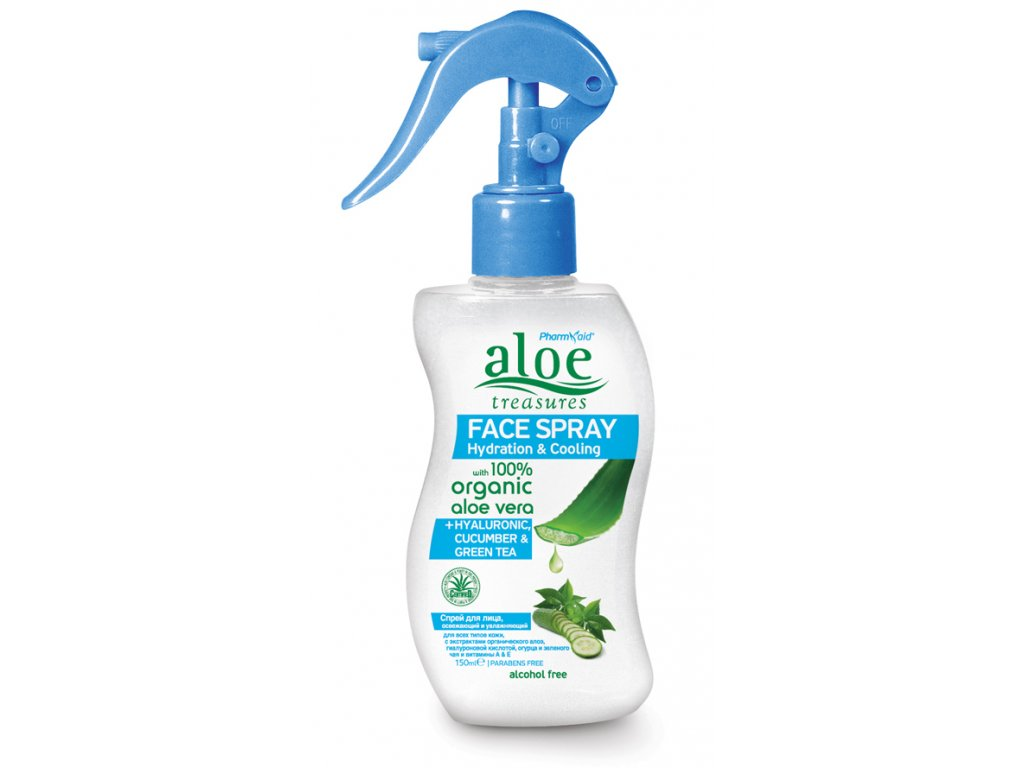aloe face spray cucumber 150ml