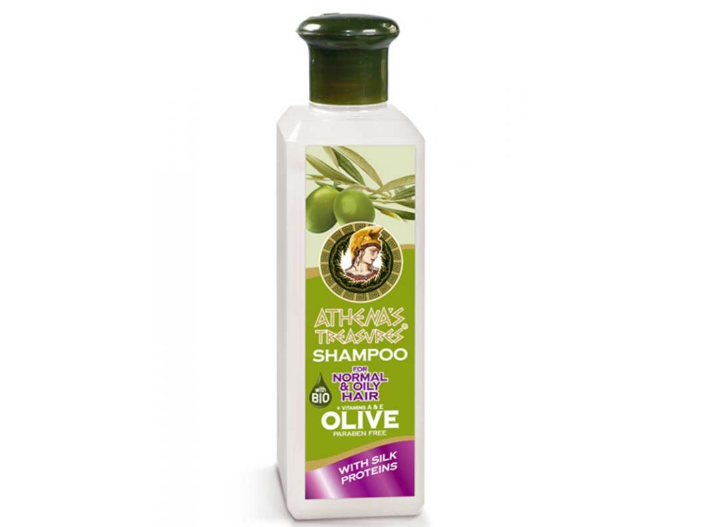 Athena treasures shampoo with silk proteins