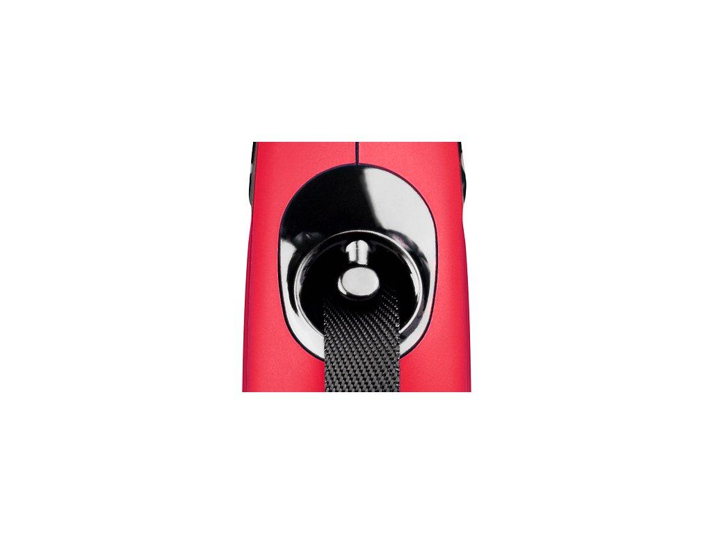 Vodítko Flexi Classic L 8m (max 50kg) pásek černá