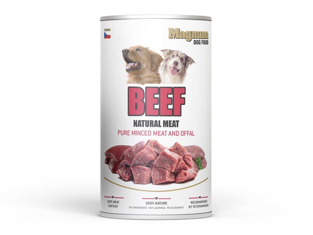 MAGNUM Natural BEEF Meat dog 1200g