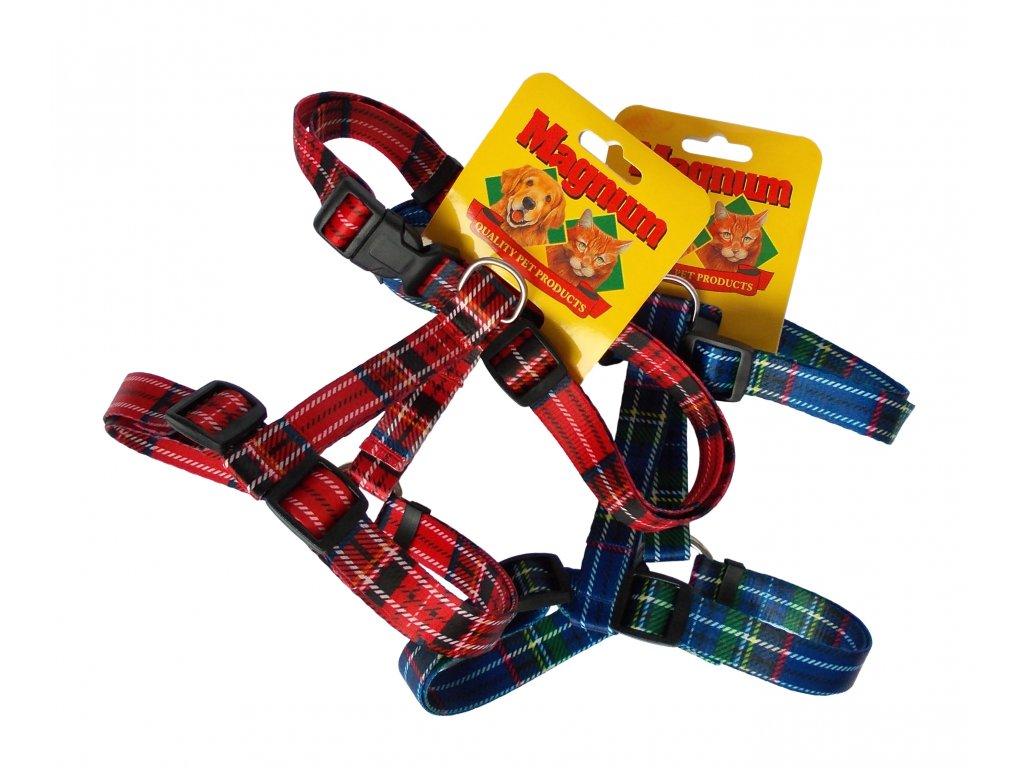 Postroj nylon skotský / kostičky 20mm x 35-50cm