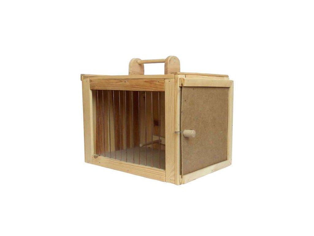 Přepravka větší dřevěná