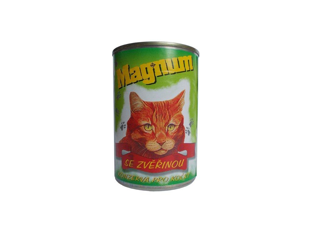 Magnum kočka zvěřina 400g