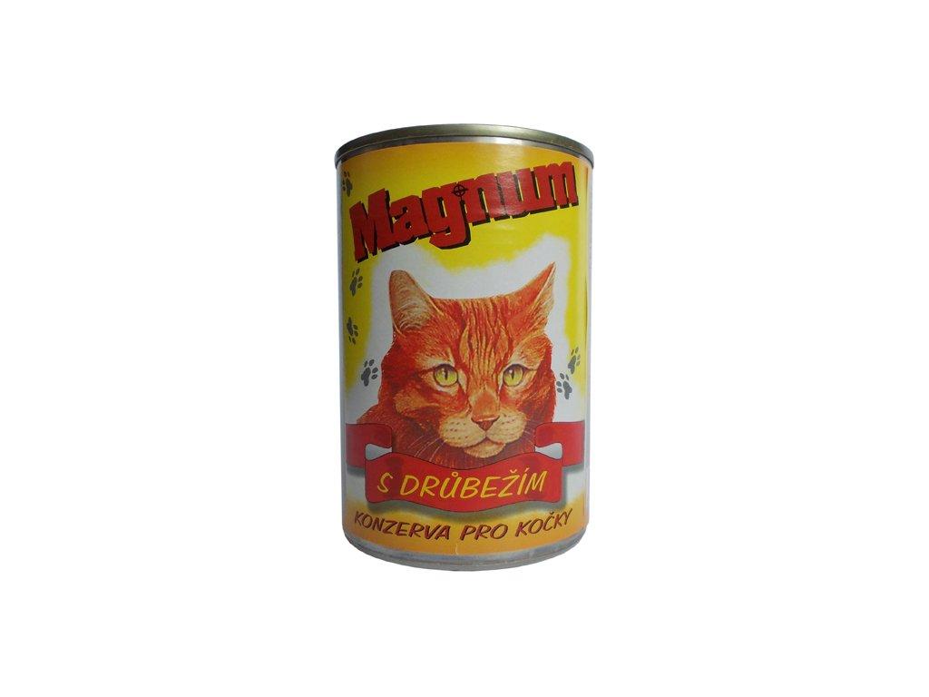 Magnum kočka drůbeží 400g