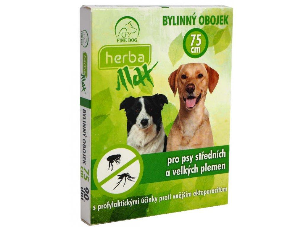 HERBA MAX Obojek Dog 75cm