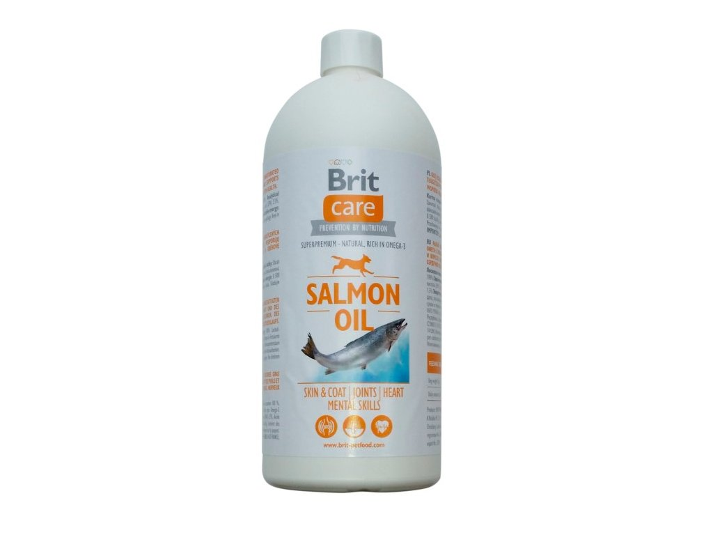 Brit Care Salmon Oil 1000 ml.