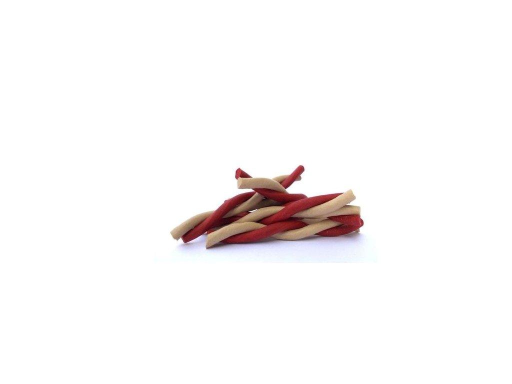 Magnum kroucená tyčka 12,5cm (50ks) RED/WHITE