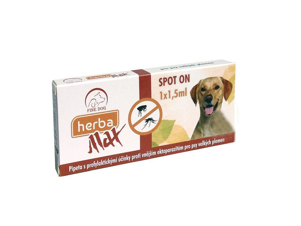 Herba MAX SpotOn BIG Dog 1x1,5ml