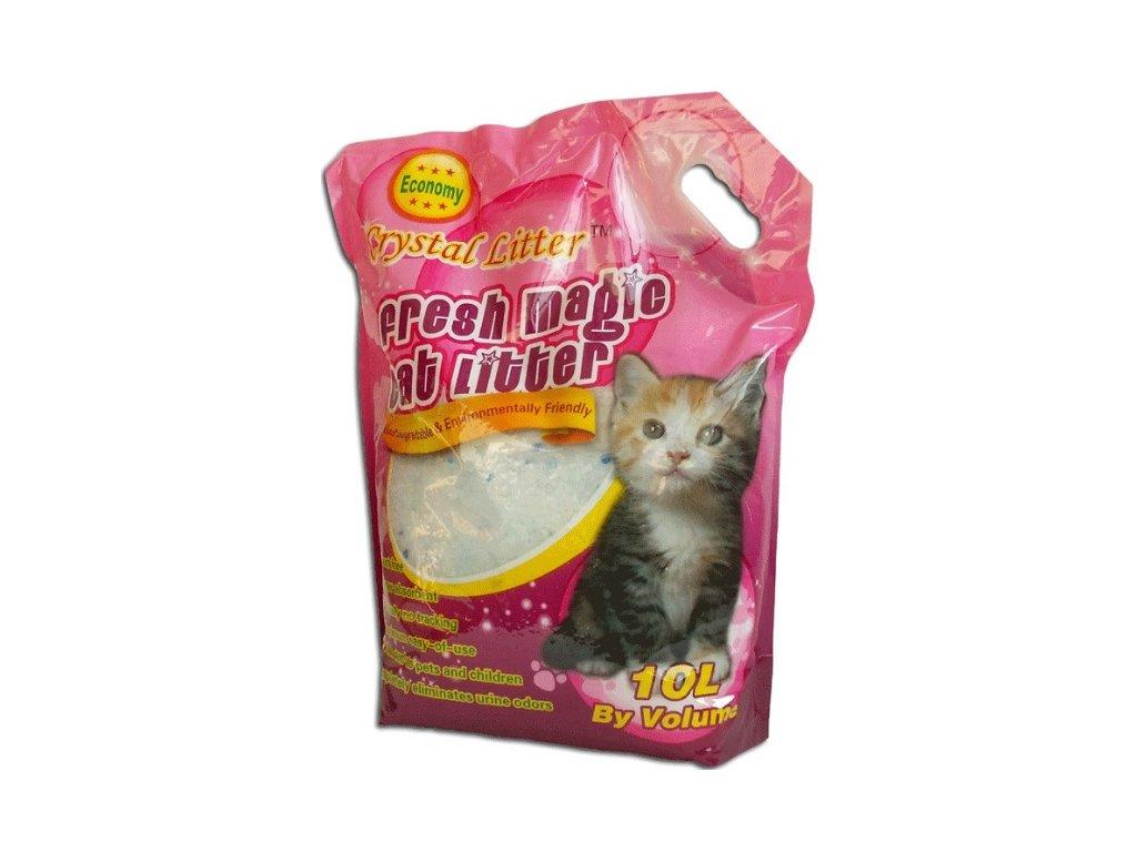 Crystal Cat litter 10 litrů