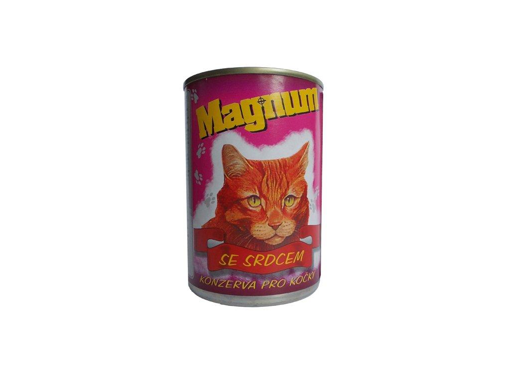 Magnum kočka srdce 400g