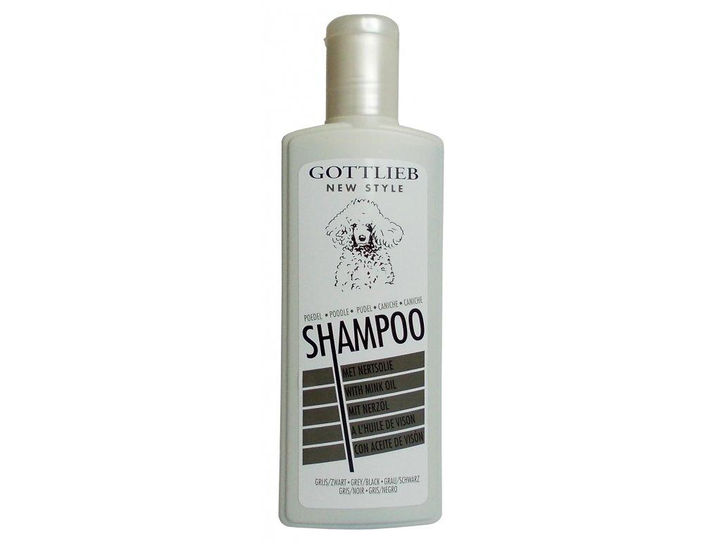 Šampon Gottlieb PUDL BLACK 300ml