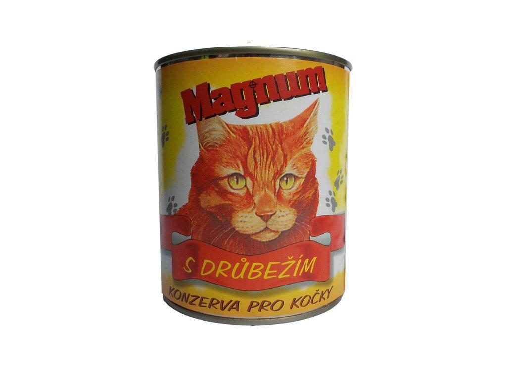 Magnum kočka drůbeží 855g