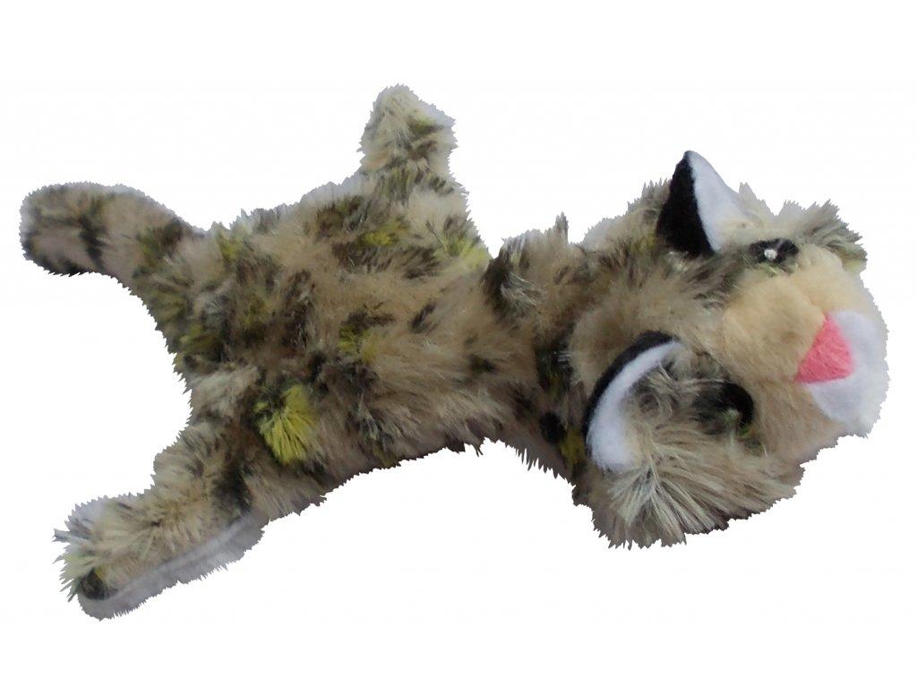 Zvířátko plyšové skvrnité 35cm