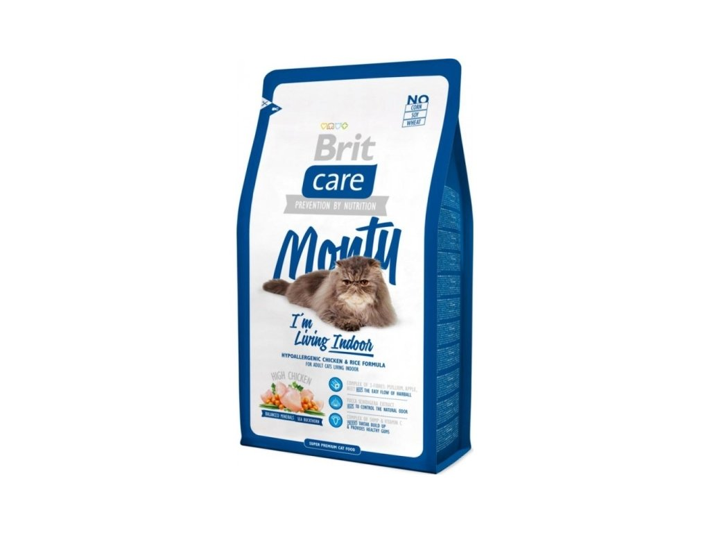 Brit Care Cat Monty Living Indoor 2kg