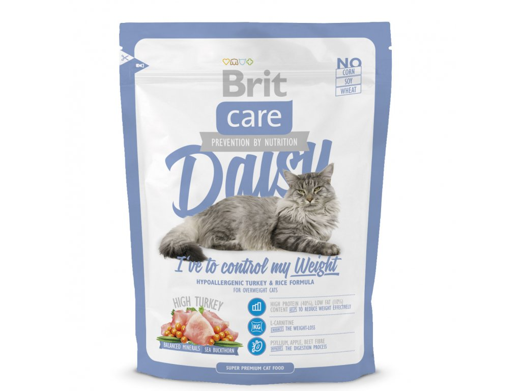 Brit Care Cat Daisy control Weight 400g