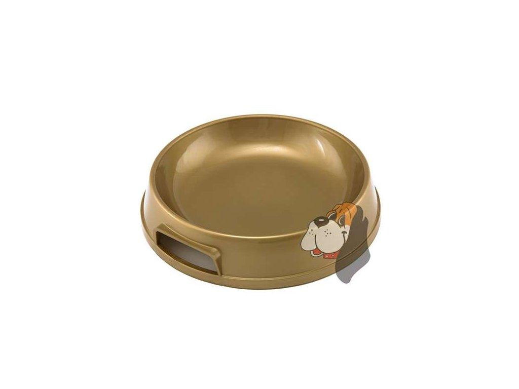 Plastová miska pro kočky a štěňata 0,3l (II.)