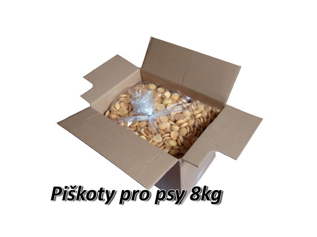 Piškoty pro psy 8kg