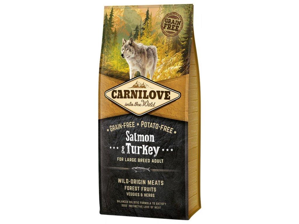 Carnilove Salmon & Turkey for large breed adult 12kg | Tenesco.cz