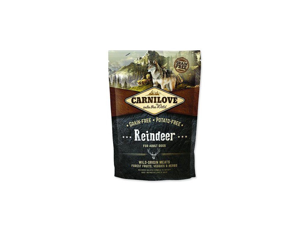 Carnilove Reindeer for adult 1,5kg | Tenesco.cz