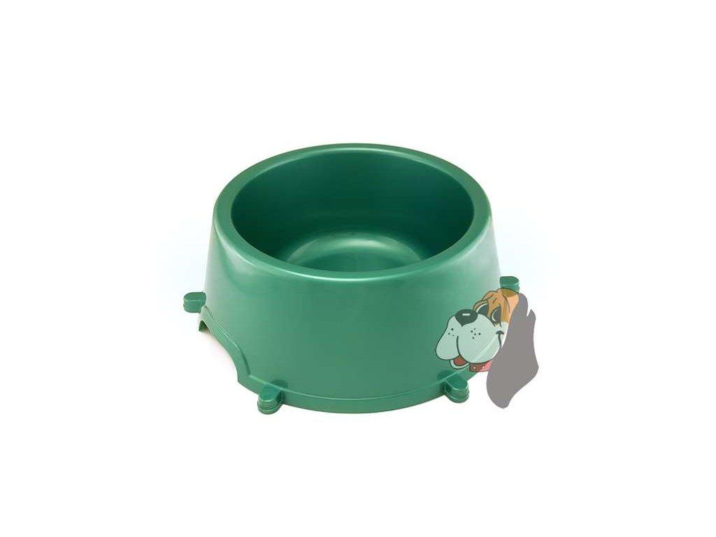 Plastová miska pro psy 4,5l (V.)