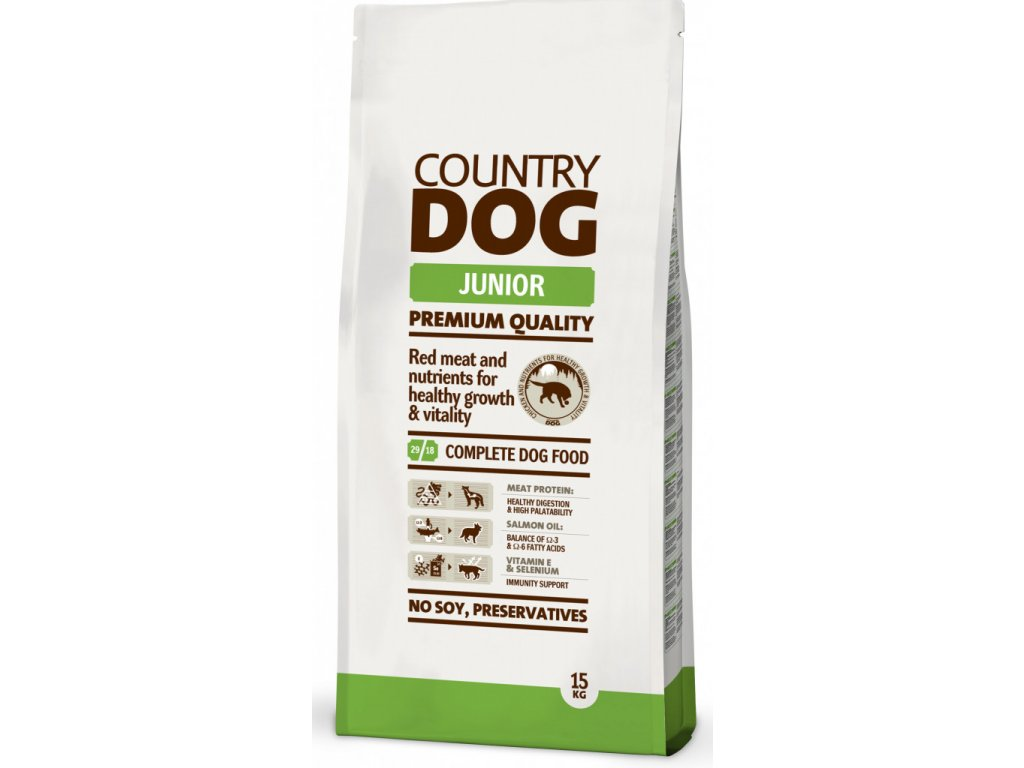 COUNTRY DOG Junior 15kg | Tenesco.cz