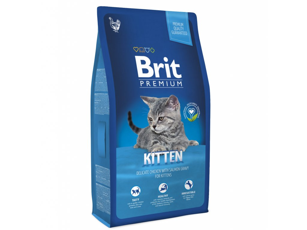 NEW Brit Premium Cat KITTEN 1,5kg