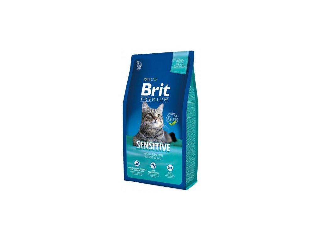 NEW Brit Premium Cat SENSITIVE 1,5kg