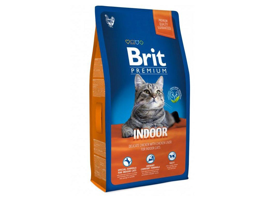 NEW Brit Premium Cat INDOOR 1,5kg