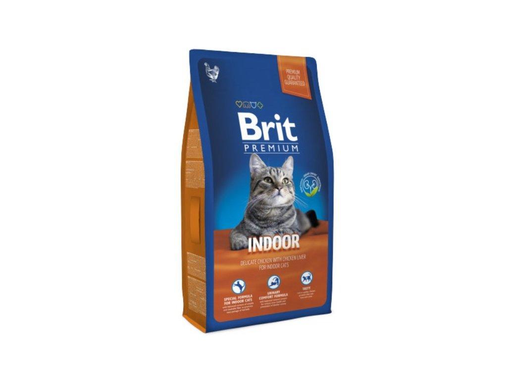 NEW Brit Premium Cat INDOOR 8kg