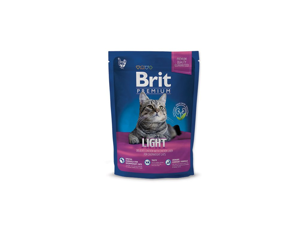 NEW Brit Premium Cat LIGHT 800g
